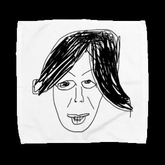 覇嶋卿士朗猿手品サンダークリムゾンじアまリーズ血褐色男爵ゾグザグゾクザギズグゾズゾノボラグラルゴンズのヤバイヤバイマン Towel handkerchiefs