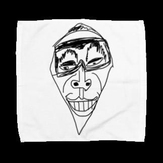 覇嶋卿士朗猿手品サンダークリムゾンじアまリーズ血褐色男爵ゾグザグゾクザギズグゾズゾノボラグラルゴンズのスネゲトンガリ二世 Towel handkerchiefs