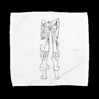 覇嶋卿士朗猿手品サンダークリムゾンじアまリーズ血褐色男爵ゾグザグゾクザギズグゾズゾノボラグラルゴンズのストロングクツクツ人造人間1500号 Towel handkerchiefs