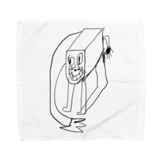 自立稼働ヤバ型かまぼこハウスサーキット Towel handkerchiefs