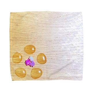 ginkgo sugar flower Towel handkerchiefs