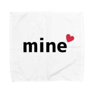 mine(マイン) Towel handkerchiefs