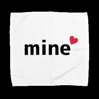 勝手に山口盛り上げ隊のmine(マイン) Towel handkerchiefs