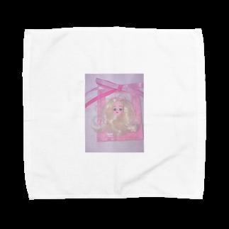 momohamの私のお人形さん Towel handkerchiefs