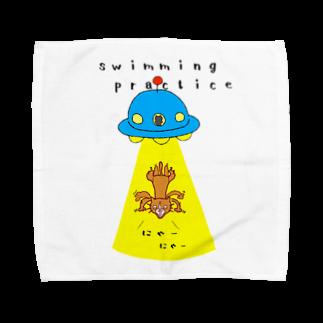 ひよこねこ ショップ 1号店のUFO Towel handkerchiefs