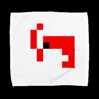 もやし人間@育児中のドットエビ Towel handkerchiefs