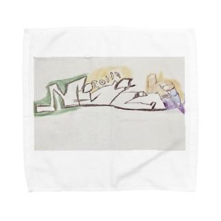 フィンガーマン親指の独立 Towel handkerchiefs