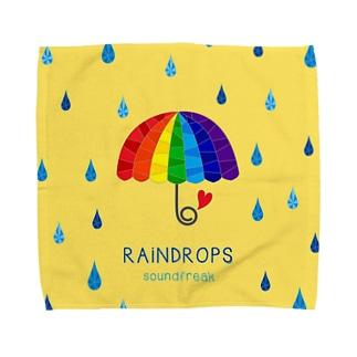 RAiNDROPS Towel handkerchiefs