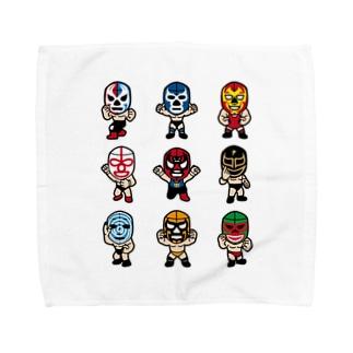 LUCHADOR nueve Towel handkerchiefs
