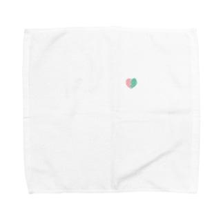キラメキハート Towel handkerchiefs