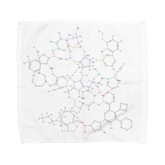 化学構造式シリーズ5 Towel handkerchiefs