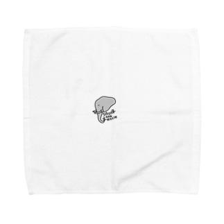 ぞさぁん Towel handkerchiefs