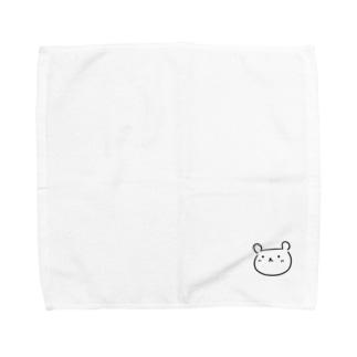 くまたん(仮) Towel handkerchiefs