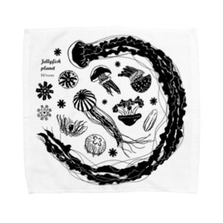 Jellyfish planet(クラゲの惑星) Towel handkerchiefs
