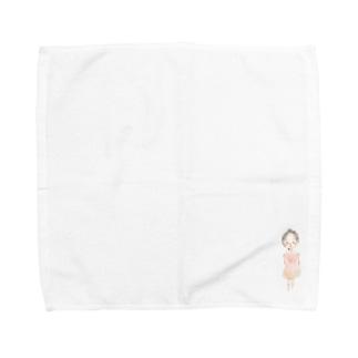 ぱすてるちゃん Towel handkerchiefs