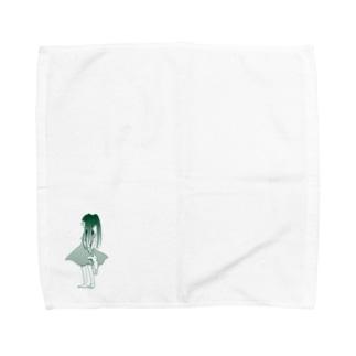 うしろむき Towel handkerchiefs