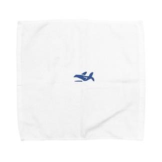 さめたこ Towel handkerchiefs