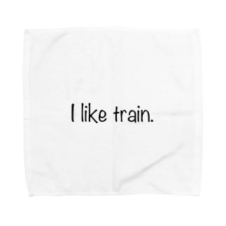 I like train Towel handkerchiefs