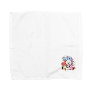 bt21 Towel handkerchiefs