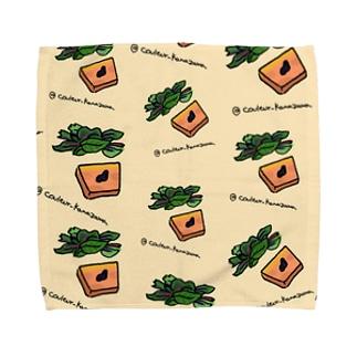 フォアグラのテリーヌがいっぱい Towel handkerchiefs