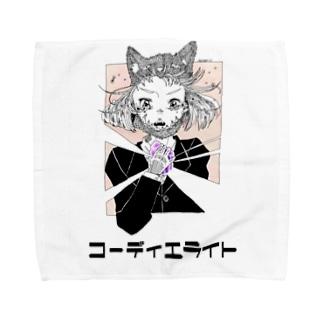コーディエライト Towel handkerchiefs