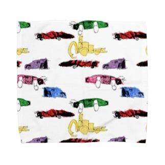 車2 Towel handkerchiefs