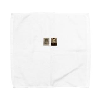 obaka2人 Towel handkerchiefs