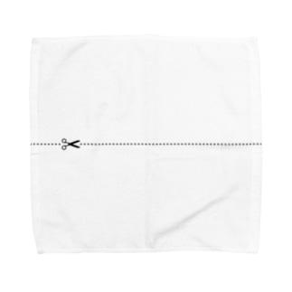 切り取り線 Towel handkerchiefs