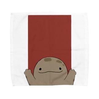 ばんざーい!オオサンショウウオ Towel handkerchiefs