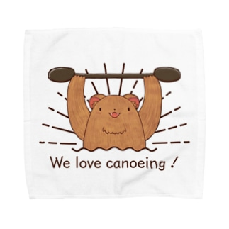 We love canoeing ! Towel handkerchiefs