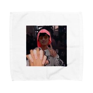 大西の顔 Towel handkerchiefs
