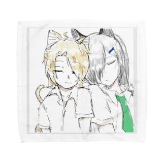 鈴銀グッズ① Towel handkerchiefs