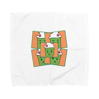 くりーむそーだ Towel handkerchiefs