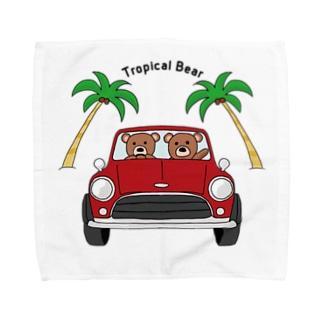 Tropical Bear トロピカルベアー Towel handkerchiefs