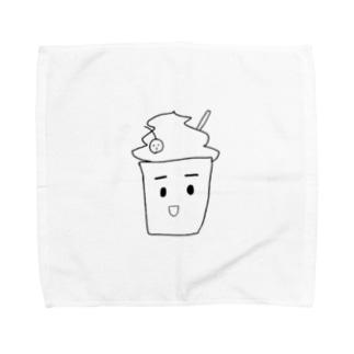 くりーむそーだのフラペチーノ Towel handkerchiefs