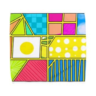 漫画コマ割り特殊効果 Towel handkerchiefs