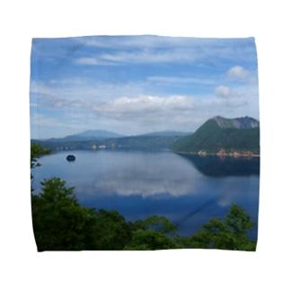 夢の摩周湖 Towel handkerchiefs