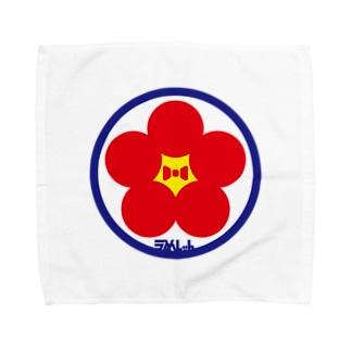 パ紋No.3388 うめしゃん Towel handkerchiefs