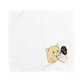 泣きむし猫のキィちゃん Towel handkerchiefs