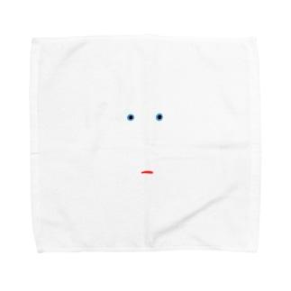 くちつきちゃん Towel handkerchiefs