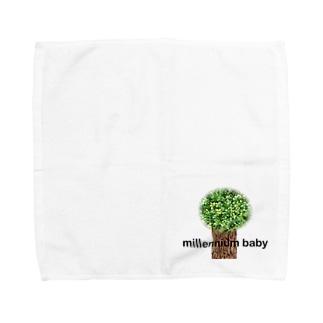 Millennium baby小物 Towel handkerchiefs