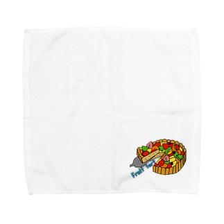 フルーツタルト Towel handkerchiefs
