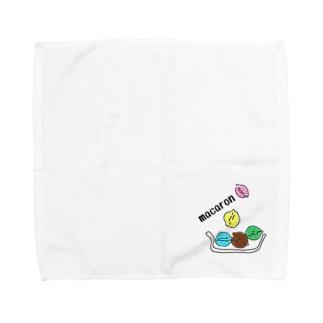マカロン Towel handkerchiefs