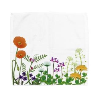 野の花 Towel handkerchiefs