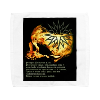 [大友窯SkullxBASARACRACY]#04「聖書」 Towel handkerchiefs