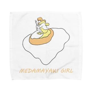 MEDAMAYAKI GIRL Towel handkerchiefs