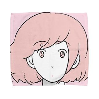 GIRL Towel handkerchiefs