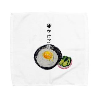 卵かけごはんちゃん Towel handkerchiefs