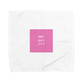 可愛い女の子クラブ Towel handkerchiefs