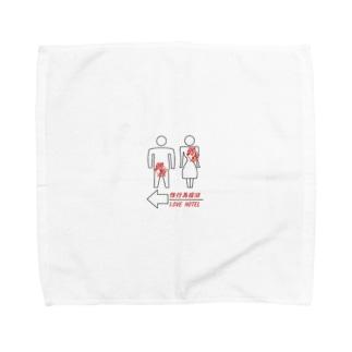 男女の関係に鈍感なもの Towel handkerchiefs